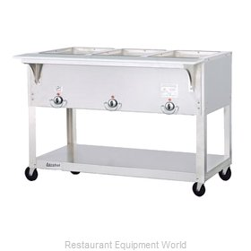 Duke EP303SW Serving Counter Hot Food Steam Table Electric