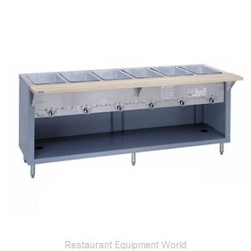 Duke G-2-CBPG Serving Counter Hot Food Steam Table Gas