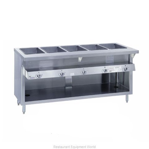 Duke G-4-DLSS Serving Counter Hot Food Steam Table Gas