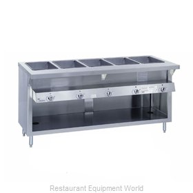 Duke G-6-DLSS Serving Counter Hot Food Steam Table Gas