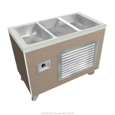 Duke HB3-2H1C Serving Counter, Hot & Cold