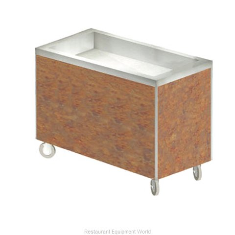 Duke HB3CI Serving Counter Cold Pan Salad Buffet (Magnified)