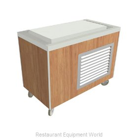 Duke HB5FT Serving Counter, Frost Top