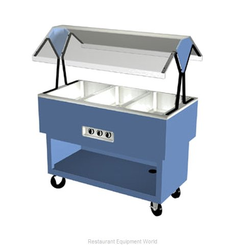 Duke OPAH-3-HF Serving Counter, Hot Food, Electric