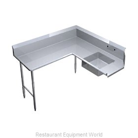 Duke SCSD-48L Dishtable, Soiled