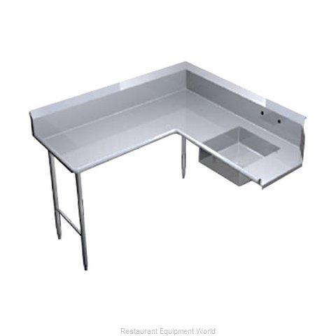 Duke SCSD-60L Dishtable, Soiled