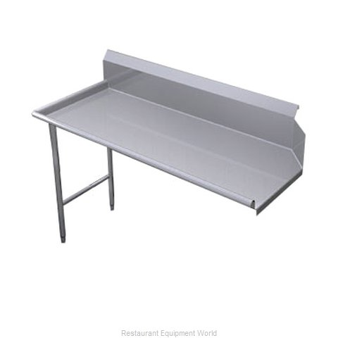 Duke SSCD-36L Dishtable, Clean Straight (Magnified)