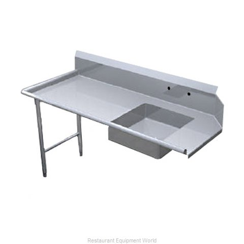 Duke SSSD-60L Dishtable, Soiled