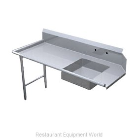 Duke SSSD-72L Dishtable Soiled