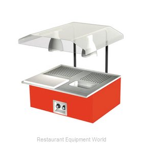 Duke TAH-2-BC Carving Station / Shelf, Countertop
