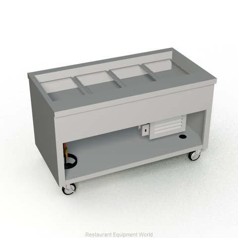 Duke TCM-60SS-N7 Serving Counter Cold Pan Salad Buffet