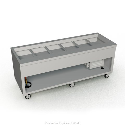 Duke TCM-88SS-N7 Serving Counter Cold Pan Salad Buffet