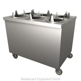 Duke TDU-46SS Dispenser, Plate Dish, Mobile