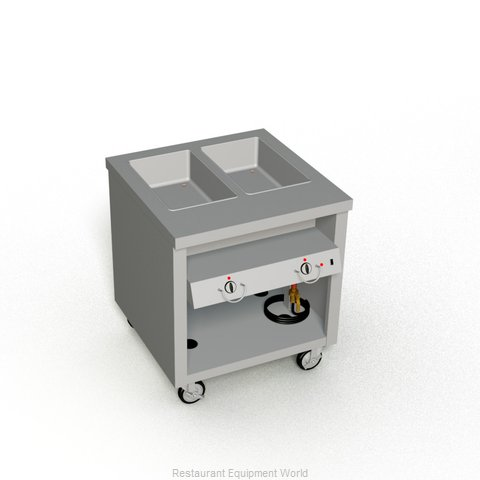 Duke TEHF-32SS Serving Counter Hot Food Steam Table Electric