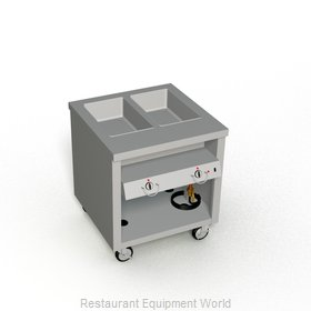 Duke TEHF-32SS Serving Counter, Hot Food, Electric