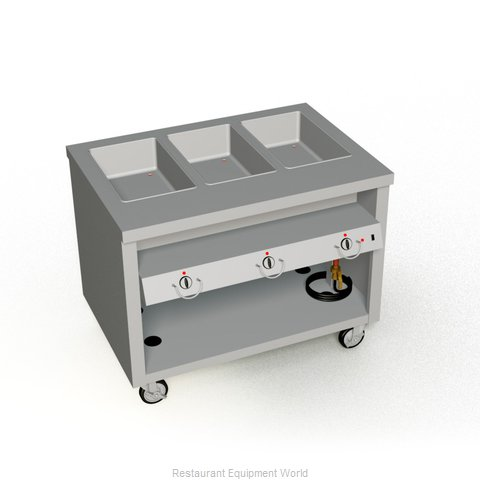 Duke TEHF-46SS Serving Counter Hot Food Steam Table Electric