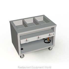 Duke TEHF-46SS Serving Counter, Hot Food, Electric