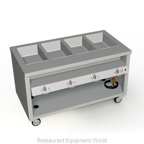 Duke TEHF-60SS Serving Counter, Hot Food, Electric