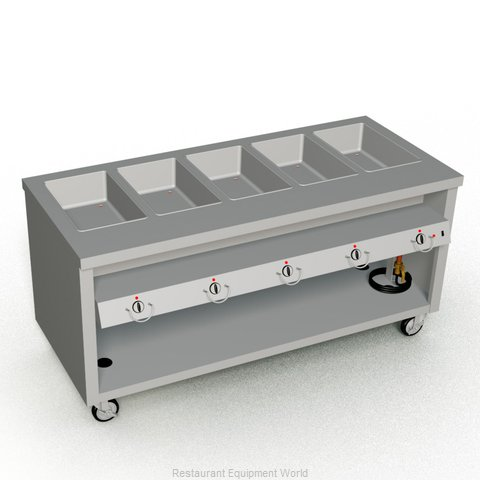 Duke TEHF-74SS Serving Counter Hot Food Steam Table Electric