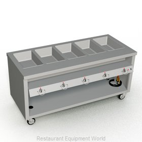 Duke TEHF-74SS Serving Counter, Hot Food, Electric