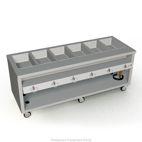 Duke TEHF-88SS Serving Counter Hot Food Steam Table Electric