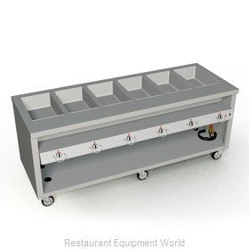 Duke TEHF-88SS Serving Counter, Hot Food, Electric