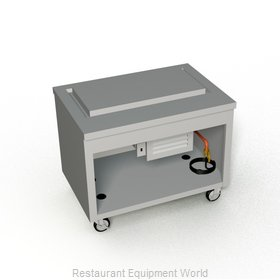 Duke TFT-46SS Serving Counter, Frost Top