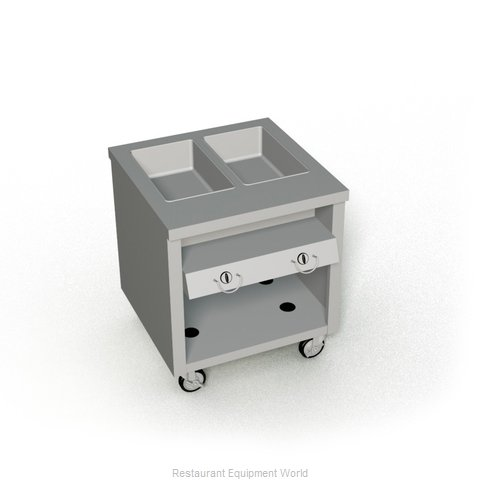 Duke TGHF-32PG Serving Counter Hot Food Steam Table Gas