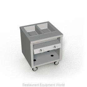 Duke TGHF-32PG Serving Counter, Hot Food, Gas