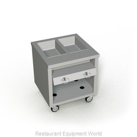 Duke TGHF-32SS Serving Counter Hot Food Steam Table Gas