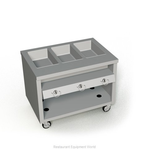 Duke TGHF-46SS Serving Counter Hot Food Steam Table Gas