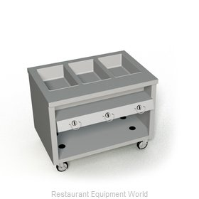Duke TGHF-46SS Serving Counter, Hot Food, Gas