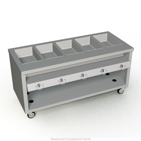 Duke TGHF-74SS Serving Counter Hot Food Steam Table Gas