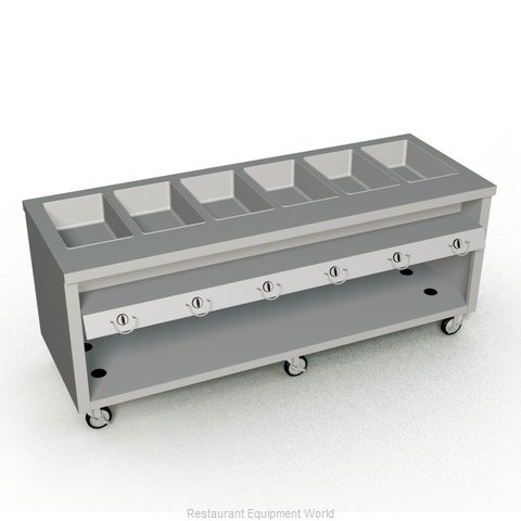 Duke TGHF-88SS Serving Counter Hot Food Steam Table Gas