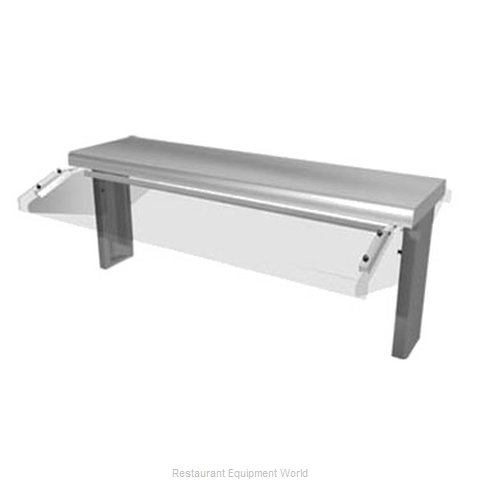Duke TS530-102-1SN Self-Service Canopy (Magnified)
