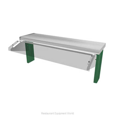 Duke TS530-88-1SN Self-Service Canopy (Magnified)