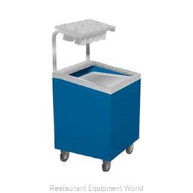 Duke TTD-1418-SSS Tray and Silverware Dispenser