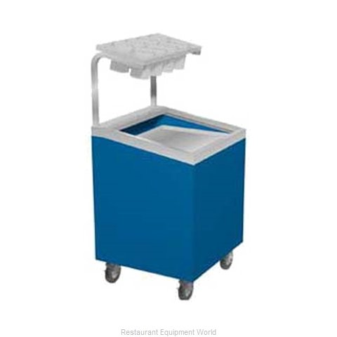 Duke TTD-1622-SSS Flatware & Tray Cart