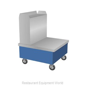 Duke TTS-32SS Flatware & Tray Cart