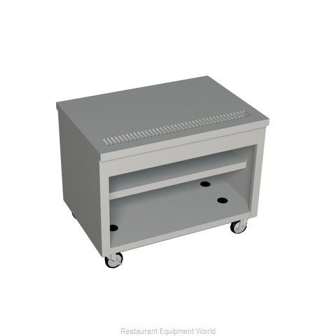Duke TUS-46SS Serving Counter, Beverage