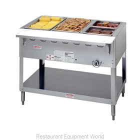 Duke WB303 Serving Counter Hot Food Steam Table Gas