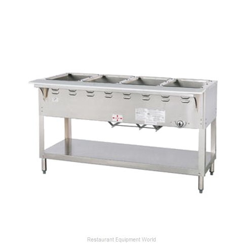 Duke WB304 Serving Counter Hot Food Steam Table Gas