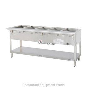Duke WB305 Serving Counter, Hot Food, Gas
