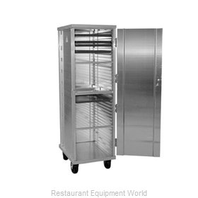 Eagle 1290WDW Bun Pan Rack Cabinet Mobile Enclosed