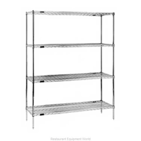 Eagle 1836E74-X Shelving Unit, Wire (Magnified)