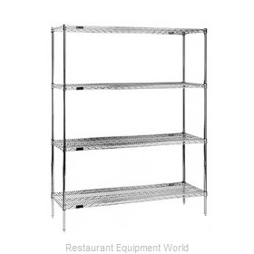 Eagle 2436Z74 Shelving Unit, Wire
