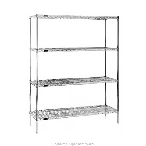 Eagle 2448Z63 Shelving Unit, Wire (Magnified)