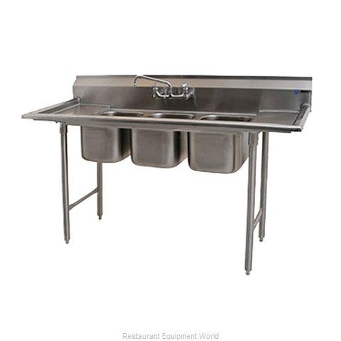 Eagle 312-12-3-12-X Sink, (3) Three Compartment