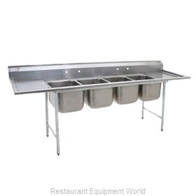 Eagle 314-16-4 Sink, (4) Four Compartment