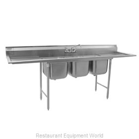 Eagle 314-18-3 Sink, (3) Three Compartment